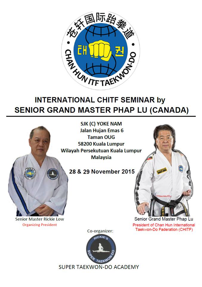 Nov. 28-29,2015 KL Malaysai International Seminar poster